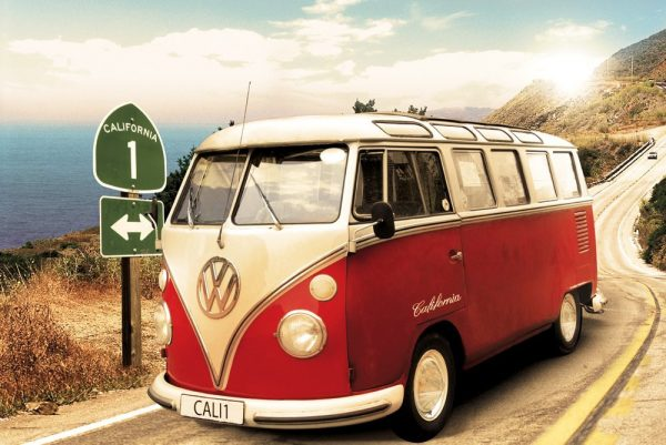 VW camper van - Route One