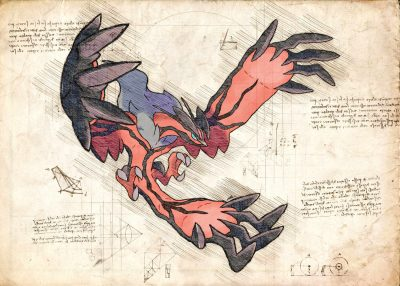 Pergament - Pokemon - Yveltal