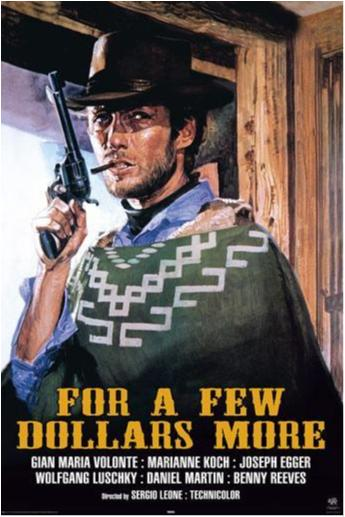 For a few dollars - One Sheet