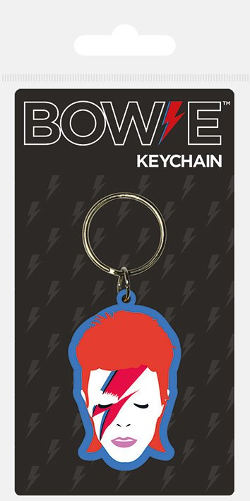 Nyckelring - David Bowie (Aladdin Sane)