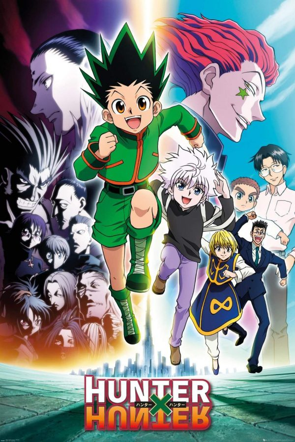 Hunter X - Hunter Keyart Running