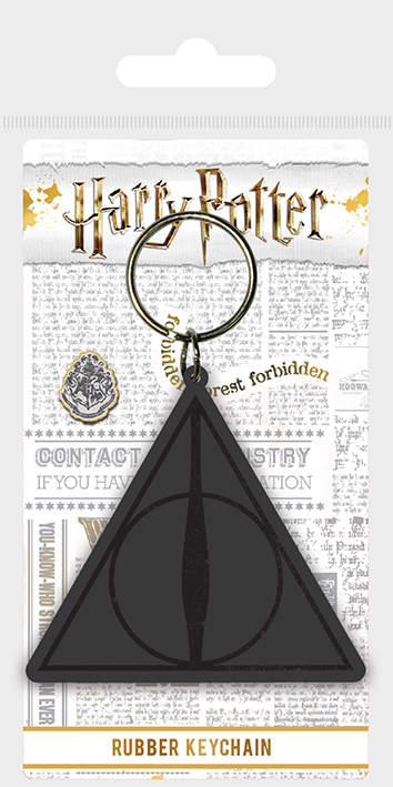 Nyckelring - Harry Potter (Deathly Hallows Logo)