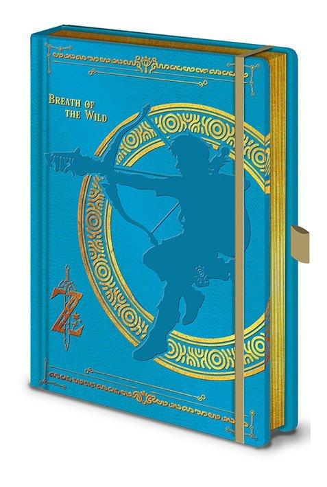 Anteckningsbok - The Legend Of Zelda - Breath Of The Wild
