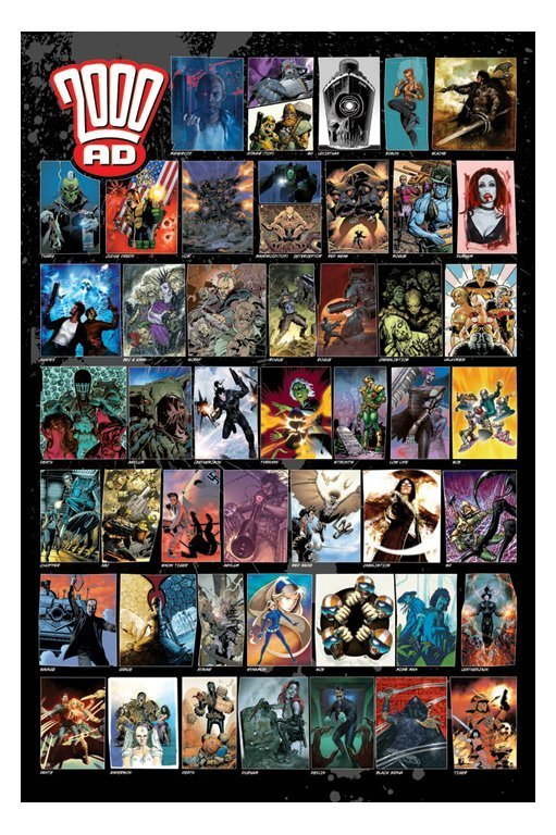 2000 AD - Characters