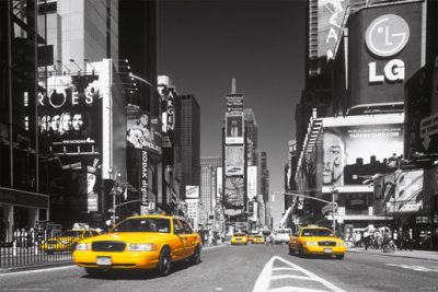 New York - Times Square - Taxi