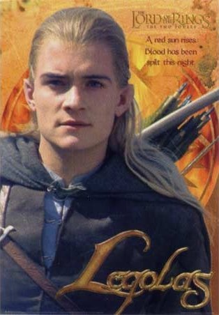 Lord of the Rings: The Two Towers - Legolas - Red Sun Rising