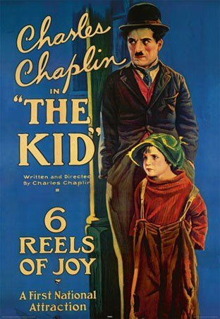 Charlie Chaplin - The Kid Movie poster