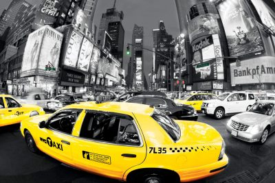 New York - Times Square Taxi
