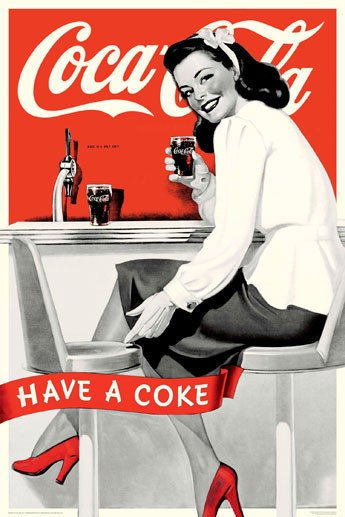 Coca Cola - Girl Have A Coke