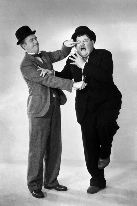 Laurel & Hardy - Stan Laurel and Oliver Hardy