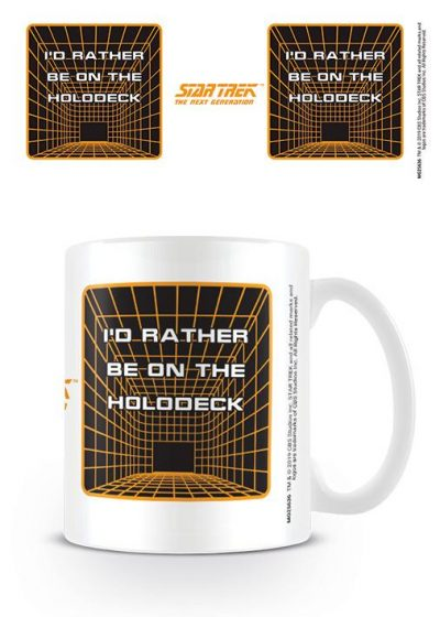 Star Trek - The Next Generation - Holodeck - Mugg