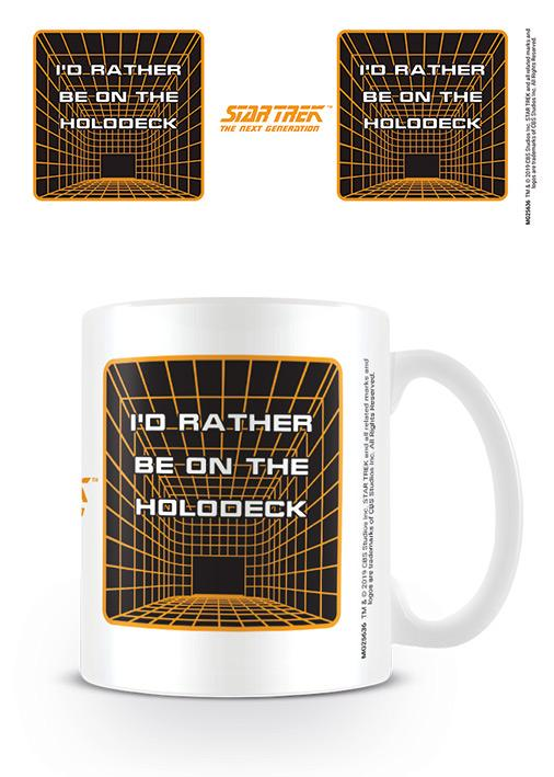 Star Trek - The Next Generation - Holodeck - Mugg