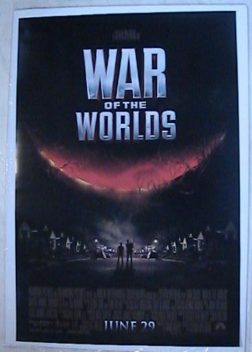 War Of The Worlds - One Sheet