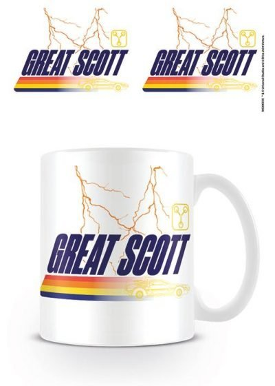 Back to the Future - Great Scott - Mugg