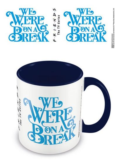 Friends - On a Break - Blue - Mugg
