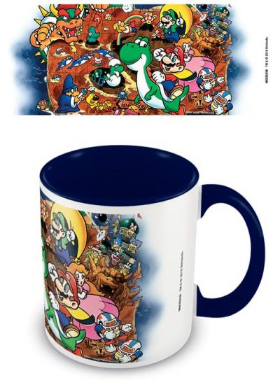 Super Mario - World - Blue - Mugg