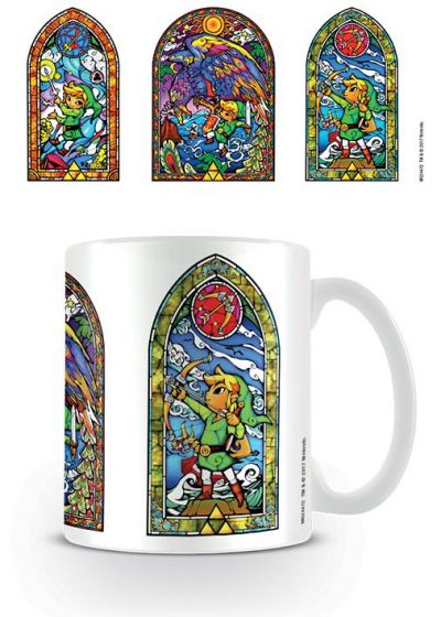 The Legend Of Zelda - Stained Glass - Mugg