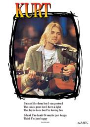Kurt Kobain - Nirvana - Lyrics From Dumb