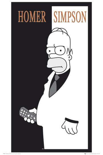 The Simpsons - Homer - Scarface