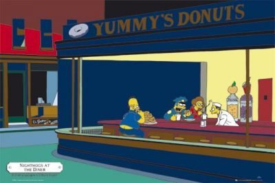 The Simpsons - Yummy´s Donuts