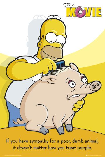 The Simpsons - The Movie - Pig