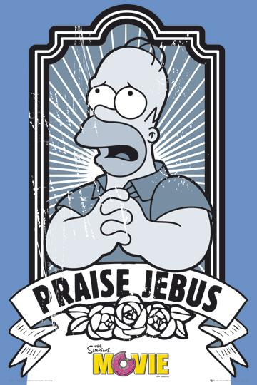 The Simpsons - Praise Jebus