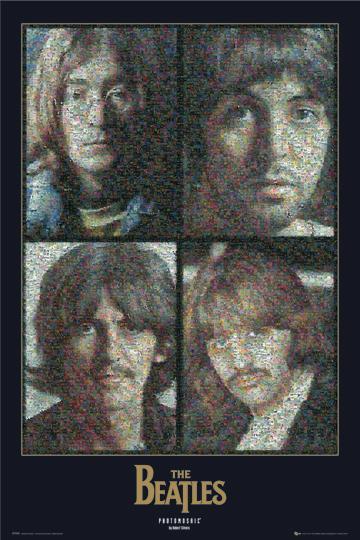 The Beatles - Panels Mosaic