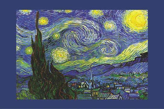 Vincent Van Gogh - Nuit Etoilee