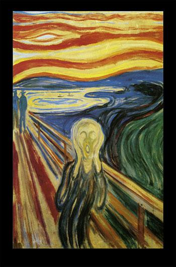 Edward Munch - The Scream - Skriet