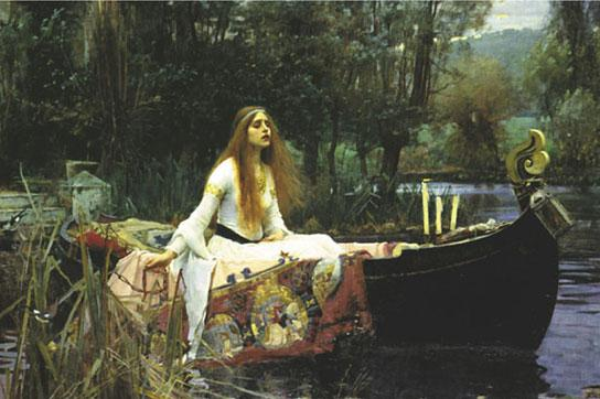 William Waterhouse - The Lady Of Shalott Tate