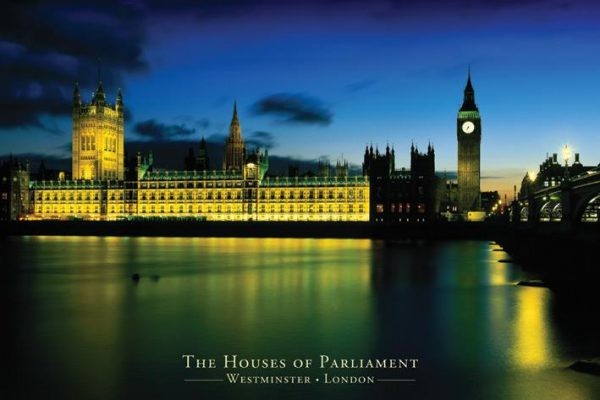 London - Westminister - The houses of parliament