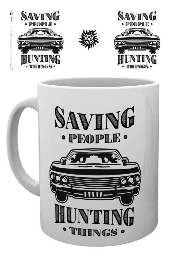Supernatural - Hunting Things - Mugg