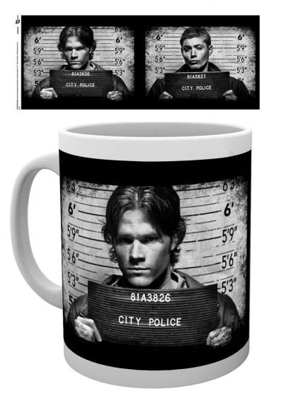 Supernatural - Mug Shots - Mugg