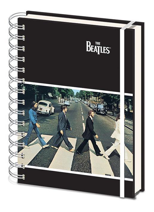 Anteckningsbok - The Beatles - Abbey Road