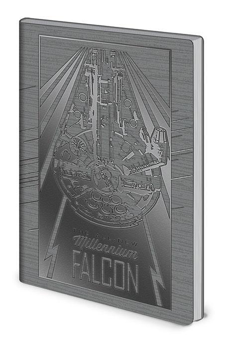 Anteckningsbok - Star Wars - Millennium Falcon