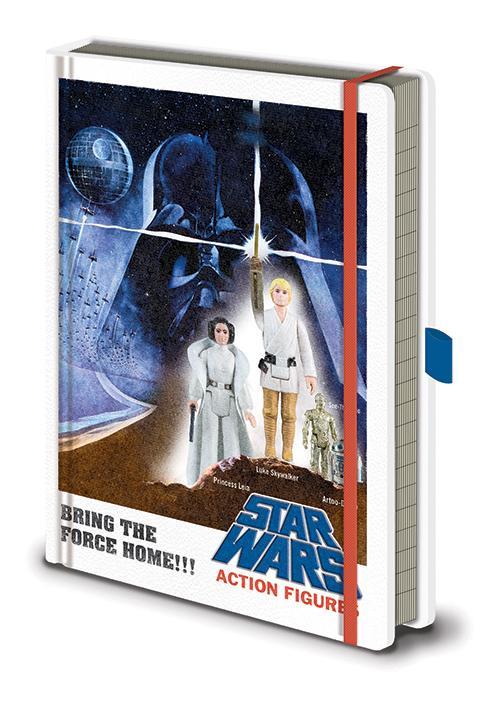 Anteckningsbok - Star Wars - Action Figures