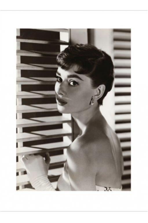 Audrey Hepburn - Blinds