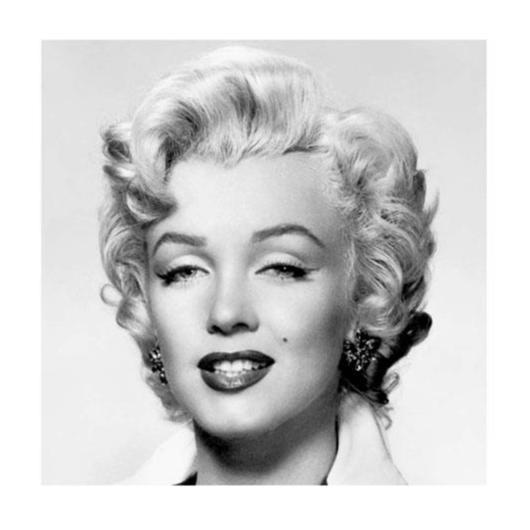 Exklusivt Art Print - Marilyn Monroe - Face