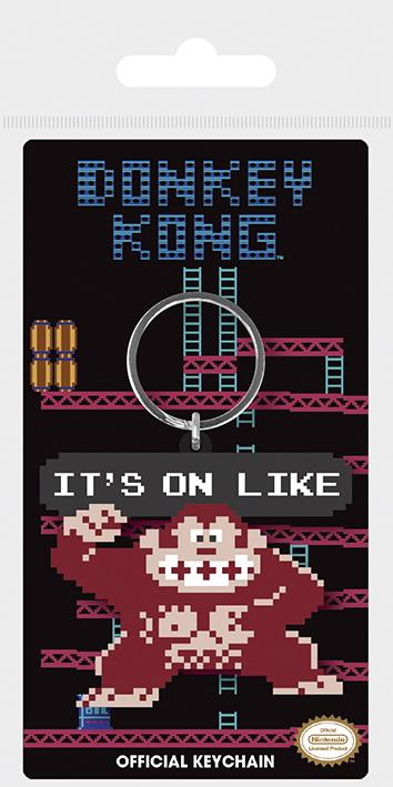 Nyckelring - Donkey Kong (It's On Like) Nintendo