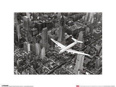 Time Life - DC-4 Over Manhattan
