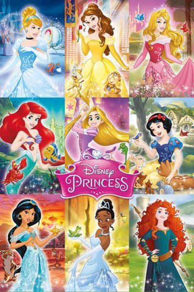Disney Princess - Collage