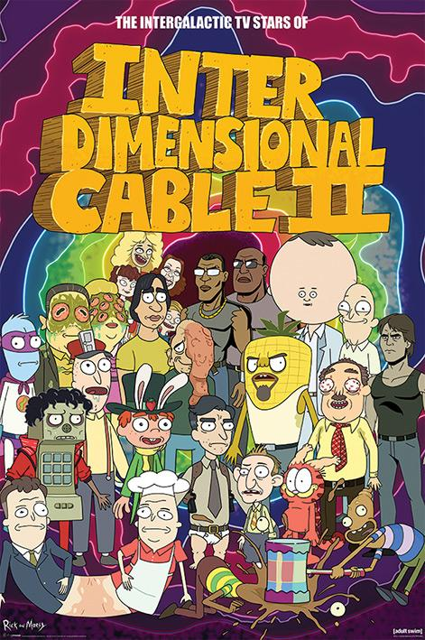 Rick and Morty - Stars of Interdimensional Cable