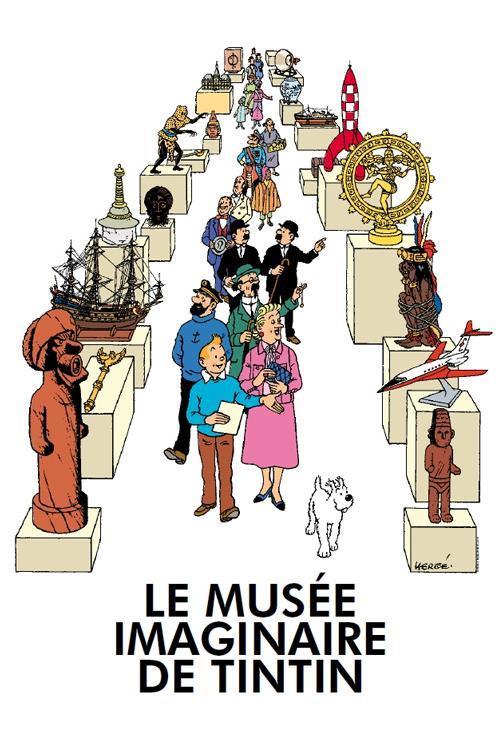 Poster - le musée imaginaire de Tintin - Tintins museum