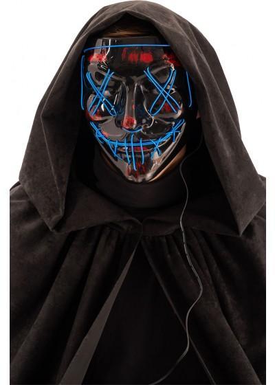 Läskig mask med belysning