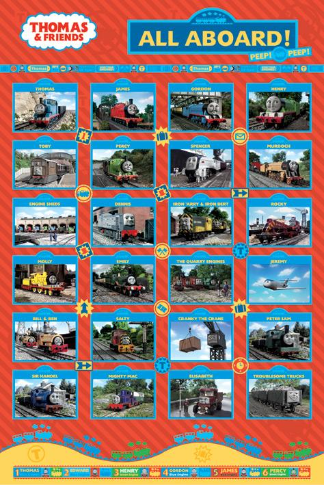 Thomas and Friends - All Aboard