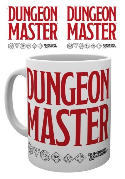Dungeons and Dragons - Dungeon Master - Mugg