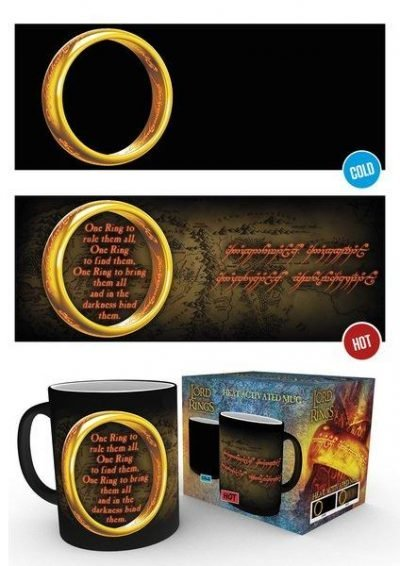 Lord Of The Rings - One Ring - Mugg som byter motiv