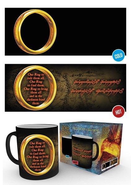 Lord Of The Rings - One Ring - Mugg som byter motiv
