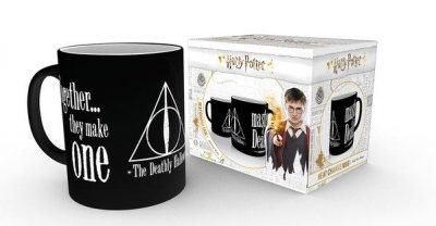 Harry Potter - Deathly Hallows - Mugg som byter motiv
