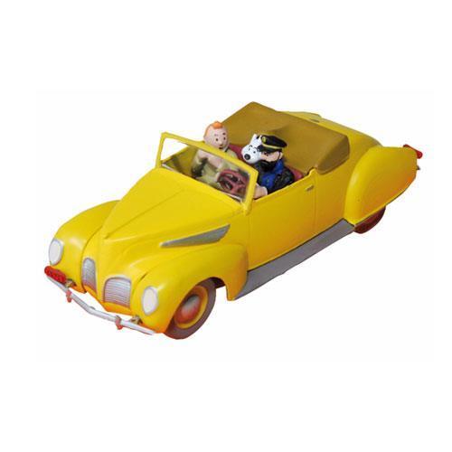 Tintin - Haddocks Lincoln Zephyr convertible